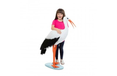 Melissa & Doug Stork, stuffed animals Deal
