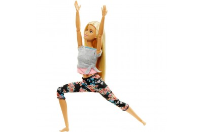 Barbie Made To Move Yoga Doll - Floral Pink Deal