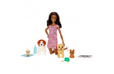 Barbie Doggy Daycare Nikki Doll & Pet Deal