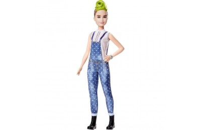 Barbie Fashionistas Doll #124 Green Mohawk Deal