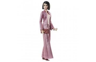 Black Friday 2020 Barbie Signature Styled By Chriselle Lim Collector Doll in in Pink Pant Suit Deal