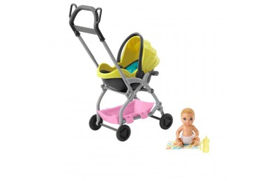 Barbie Skipper Babysitter Inc. Stroller and Baby Playset Deal