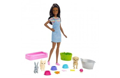 Black Friday 2020 Barbie Play 'n' Wash Pets Nikki Doll and Playset Deal