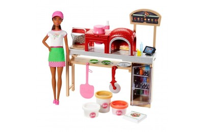 Barbie Careers Pizza Chef Nikki Doll and Playset Deal