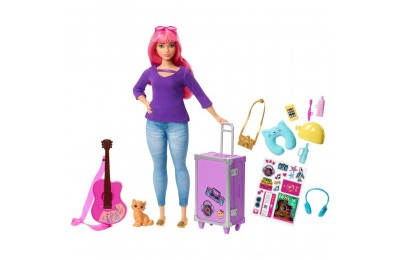 Barbie Daisy Travel Doll & Kitten Playset Deal