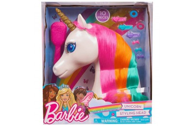 Barbie Dreamtopia Unicorn Styling Head 10pcs Deal
