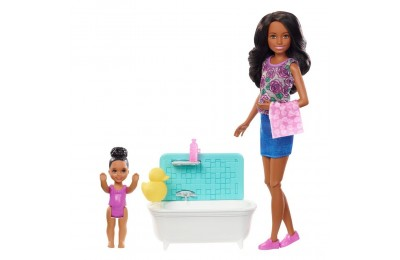 Barbie Skipper Babysitters Inc. Doll & Playset - Dark Hair Deal
