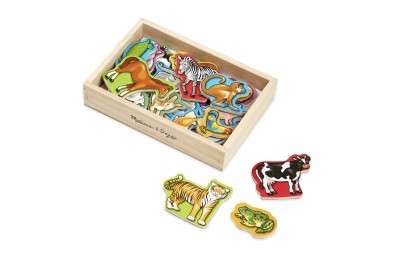 Black Friday 2020 Melissa & Doug 20 Wooden Animal Magnets in a Box Deal