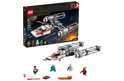 Black Friday 2020 LEGO Star Wars: The Rise of Skywalker Resistance Y-Wing Starfighter 75249 New Advanced Collectible Starship Model Building Kit 578pc Deal