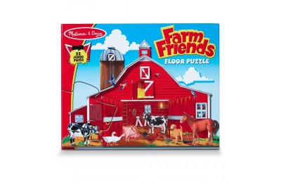 Melissa And Doug Farm Friends Jumbo Floor Puzzle 32pc Deal