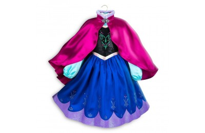 Disney Frozen 2 Anna Kids' Dress - Size 5-6 - Disney store, Girl's, Blue Deal