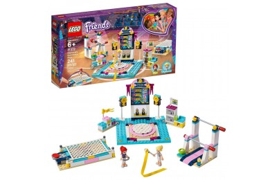 LEGO Friends Stephanie's Gymnastics Show 41372 Building Set with Gymnastics Toys 241pc Deal