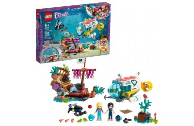 Black Friday 2020 LEGO Friends Dolphins Rescue Mission 41378 Sea Life Building Kit with Toy Submarine and Sea Creatures Deal