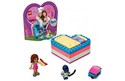 LEGO Friends Olivia's Summer Heart Box 41387 Portable Toy Mini Doll 93pc Deal