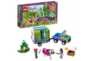 LEGO Friends Mia's Horse Trailer 41371 Building Kit with Mia and Stephanie Mini Dolls 216pc Deal