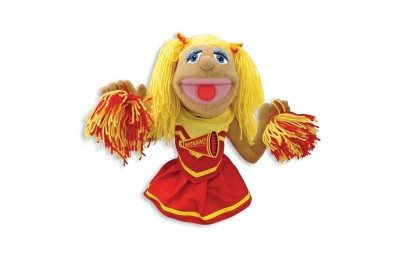 Melissa & Doug Cheerleader Puppet With Detachable Wooden Rod Deal