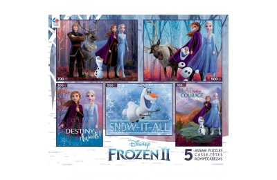 Ceaco Disney Frozen 2 5pk Puzzles 2300pc, Adult Unisex Deal