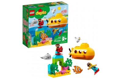 Black Friday 2020 LEGO DUPLO Submarine Adventure 10910 Bath Toy Building Set for Toddlers with Toy Submarine 24pc Deal