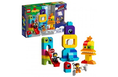Black Friday 2020 THE LEGO MOVIE 2 Emmet and Lucy's Visitors from the DUPLO 10895 Deal