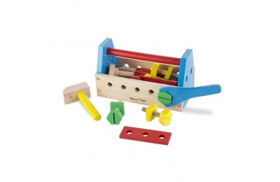 Melissa & Doug Take-Along Tool Kit Wooden Construction Toy (24pc) Deal