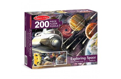 Melissa & Doug Exploring Space Jumbo Jigsaw Floor Puzzle 200pc Deal