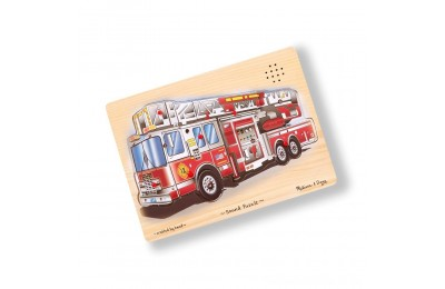 Black Friday 2020 Melissa & Doug Fire Truck Sound Puzzle - 9pc Deal