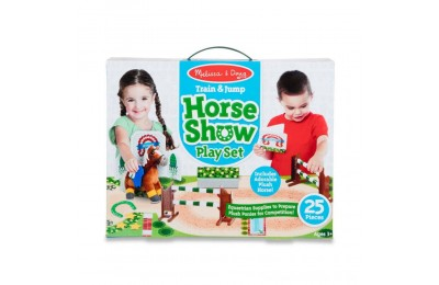 Melissa & Doug Horse Show Equestrian Playset 25pc Deal