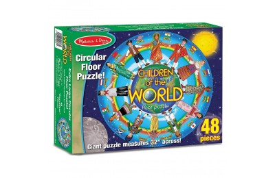 Melissa And Doug Children Of The World Jumbo Floor Puzzle 48pc Deal