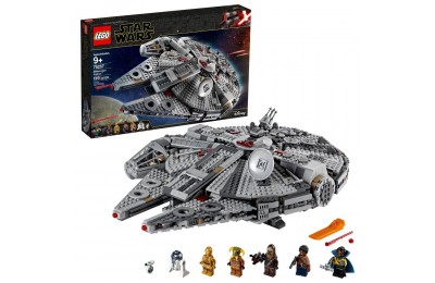 Black Friday 2020 LEGO Star Wars: The Rise of Skywalker Millennium Falcon Building Kit Starship Model with Minifigures 75257 Deal