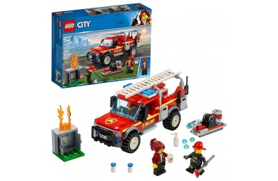 LEGO City Fire Chief Response Truck 60231 Building Set with Toy Firetruck and Ladder 201pc Deal