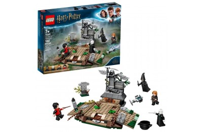 LEGO Harry Potter The Rise of Voldemort 75965 Wizard Minifigure Battle Action Building Set 184pc Deal