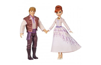 Disney Frozen 2 Anna and Kristoff Fashion Dolls 2pk Deal