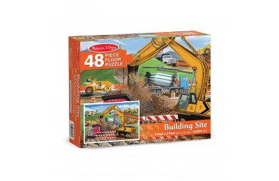 Melissa And Doug Building Site Jumbo Floor Puzzle 48pc Deal