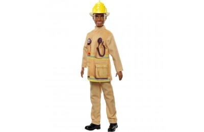 Barbie Ken Career Firefighter Doll Deal