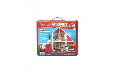 Melissa & Doug Magnetivity - Fire Station Deal
