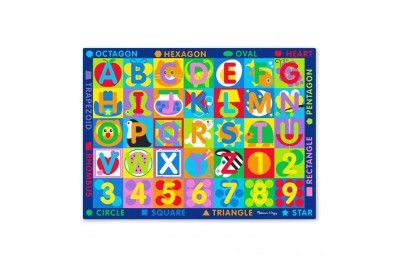 Melissa & Doug Jumbo ABC-123 Rug, Kids Unisex Deal