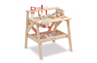 Melissa & Doug Solid Wood Project Workbench Play Building Set Deal