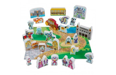 Melissa & Doug Wooden Castle Play Set Deal