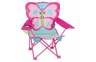 Melissa & Doug Sunny Patch Cutie Pie Butterfly Folding Lawn and Camping Chair Deal