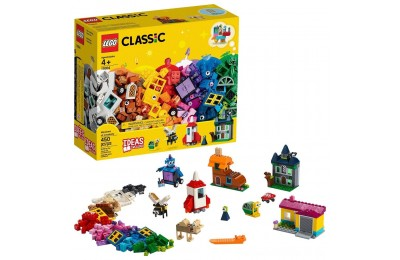 Black Friday 2020 LEGO Classic Windows of Creativity 11004 Building Kit with Toy Doors for Creative Play 450pc Deal