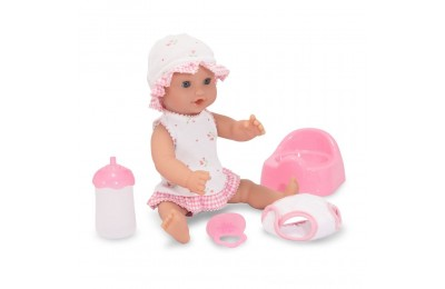 "Melissa & Doug Mine to Love Annie 12"" Drink and Wet Baby Doll Deal"