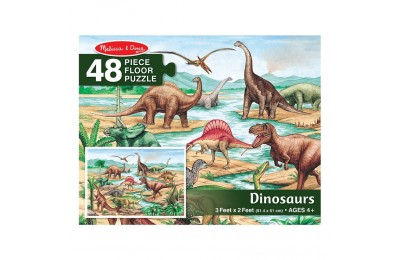 Melissa And Doug Dinosaurs Jumbo Floor Puzzle 48pc Deal