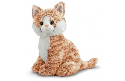 Melissa & Doug Pumpkin Tabby - Stuffed Animal Cat Deal