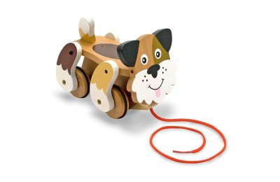 Melissa & Doug Playful Puppy Wooden Pull Toy for Beginner Walkers Deal