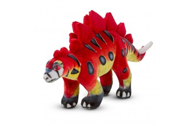 Melissa & Doug Giant Stegosaurus Dinosaur - Lifelike Stuffed Animal Deal