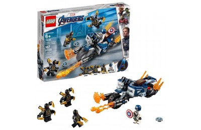 Black Friday 2020 LEGO Super Heroes Marvel Avengers Movie 4 Captain America: Outriders Attack 76123 Deal