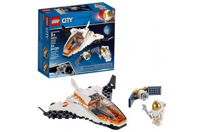 Black Friday 2020 LEGO City Space Satellite Service Mission 60224 Space Shuttle Toy Building Set 84pc Deal