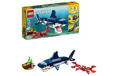 Black Friday 2020 LEGO Creator Deep Sea Creatures Building Kit Sea Animal Toys for Kids 31088 Deal