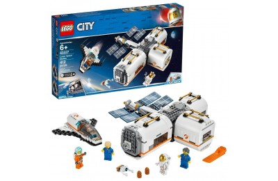 Black Friday 2020 LEGO City Space Lunar Space Station 60227 Space Station Building Set with Toy Shuttle Deal
