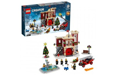 Black Friday 2020 LEGO Creator Winter Village Fire Station 10263 Deal
